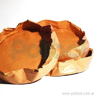 Molde descartable para bizcochuelo 24 x 5 cm.