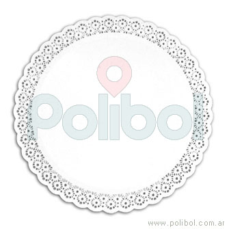 Bandeja plato de reposteria redonda de 30 cm