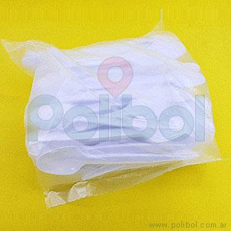 Cuchara sundae blanca