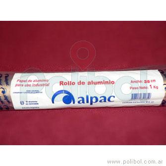 Rollo de aluminio 38 cm.
