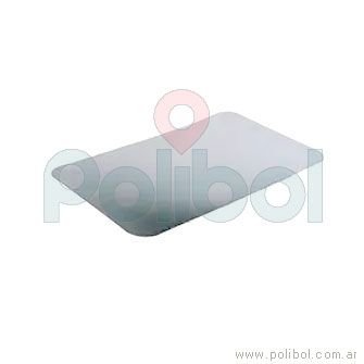 Tapa F100 (B5). Material Aluminio cartón. Paquete x 10 unidades.-