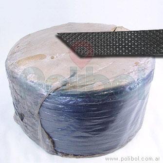 Fleje negro para embalar de 13 mm
