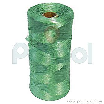 Bobina de hilo de polipropileno verde