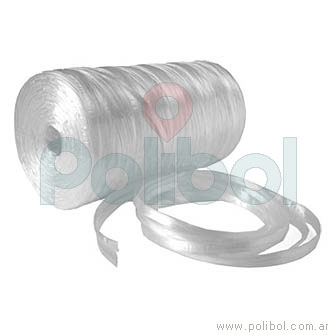 Bobina de cinta de polipropileno blanco
