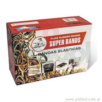 Bandas elásticas de 40 mm.
