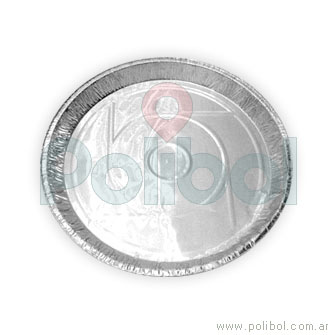 Plato de aluminio P23. Paquete x 10 unidades.-