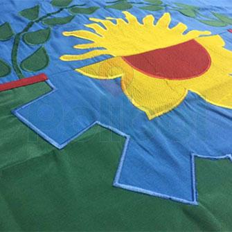 Bandera Bonaerense de ceremonia