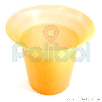 Frapera plástica naranja
