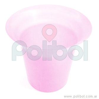 Frapera plástica rosa