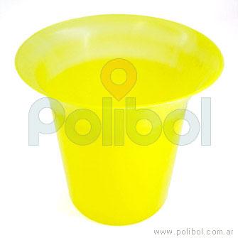 Frapera plástica amarillo