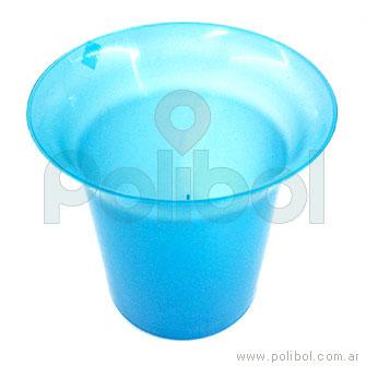 Frapera plástica azul