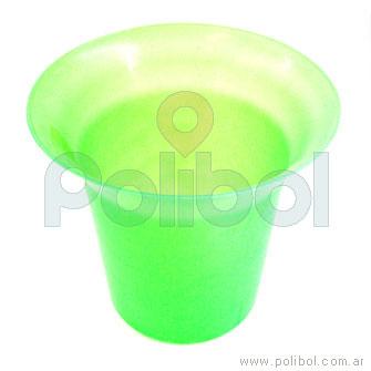 Frapera plástica verde