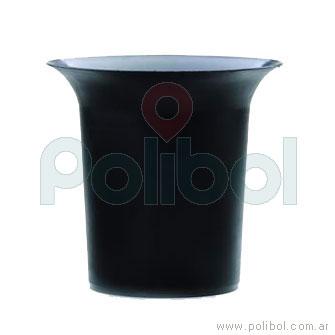 Frapera plástica negro
