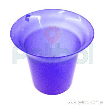 Frapera plástica violeta