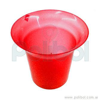 Frapera plástica rojo