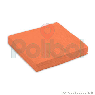 Servilletas Tissue 2 pliegos Naranja
