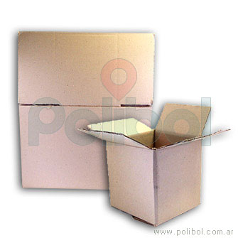 Caja de cartón corrugado 50 x 30 x 30 cm.