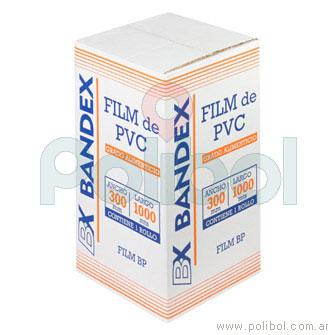 Film de PVC rollo 30 cm x 1000 mts