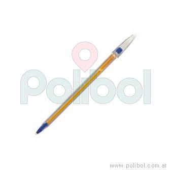 Bolígrafo trazo Fino color azul
