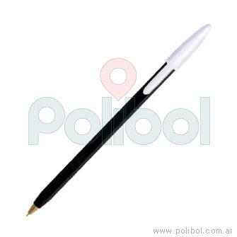 Bolígrafo trazo medio color negro