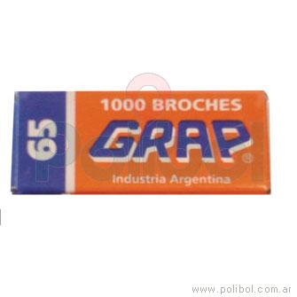 Broche 65 1000u.