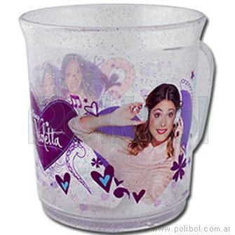 Taza de plástico Violeta