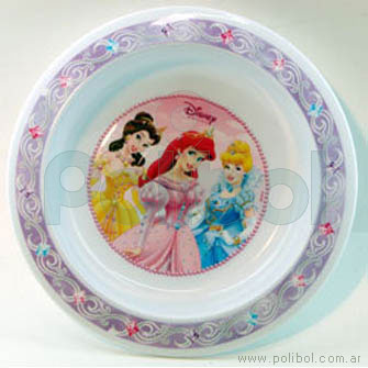 Bowl chico Princesas