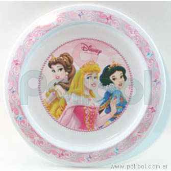 Plato playo Princesas