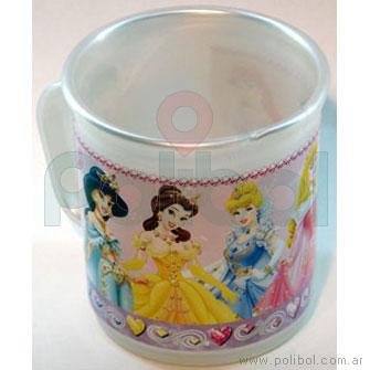 Taza perlada Princesas