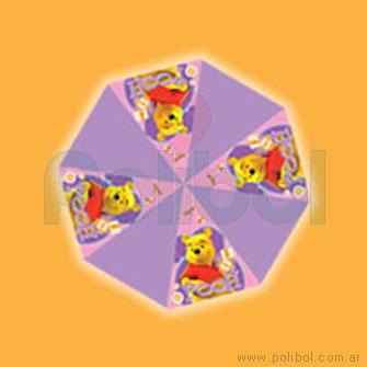 Paraguas de Pooh