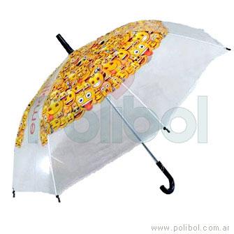 Paraguas Emoji 53 cm