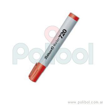 Marcador al agua rojo 720