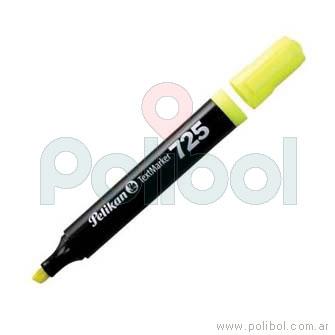 Resaltador fluorescente amarillo 725