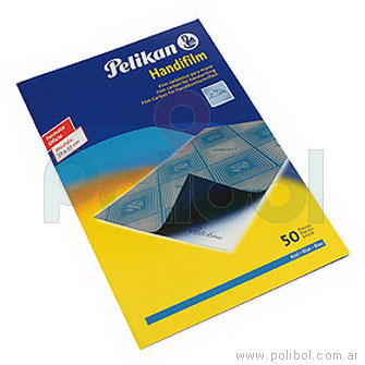 Papel carbónico Handfilm azul x50