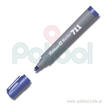 Marcador permanente 711 azul