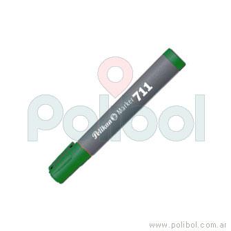 Marcador permanente 711 verde