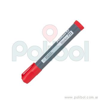 Marcador permanente 711 rojo