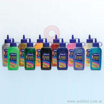 Adhesivo Glitter violeta