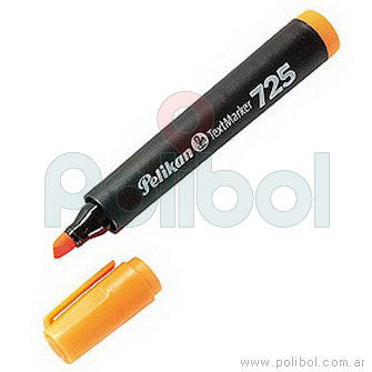 Resaltador fluorescente naranja 725