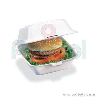 Estuche EHM hamburguesa PSE x 200 unid.-