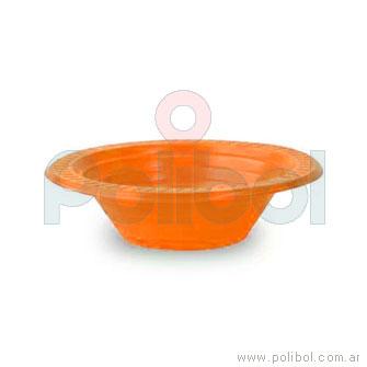 Plato Fiesta. Hondo Naranja