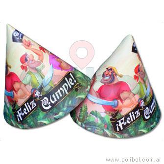 Gorros Los piratas-Disney