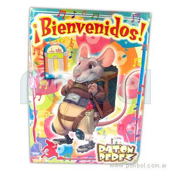 Afiche de Bienvenidos con recordatorio El ratón Perez