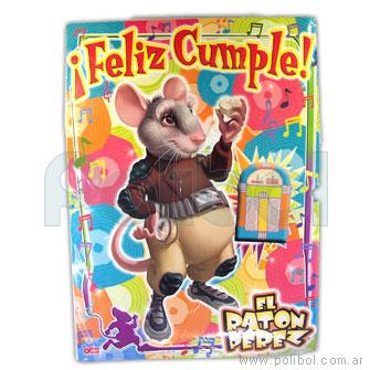 Afiche de Feliz cumple El ratón Perez