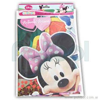 Mantel plástico Mickey Minnie