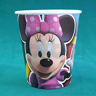 Vasos de plásticos Minnie