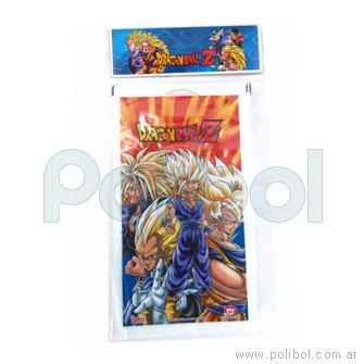 Bolsas plásticas de cotillón Dragon Ball Z x10