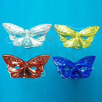 Antifaz de Mariposa holograma