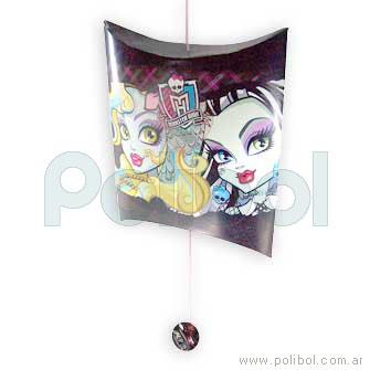 Piñata de cartón de Monster High