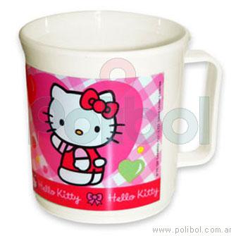 Taza de plástico Hello Kitty